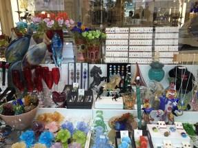 Murano glass shop in Venice.