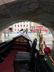 The view from the gondola.