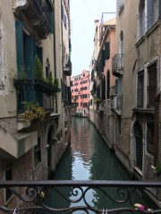 The beautiful streets of Venice.