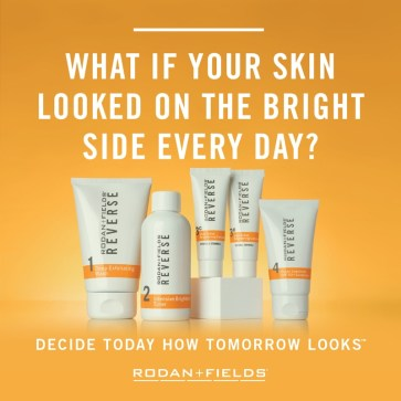 Rodan + Fields Reverse for any sun damage and age spots.