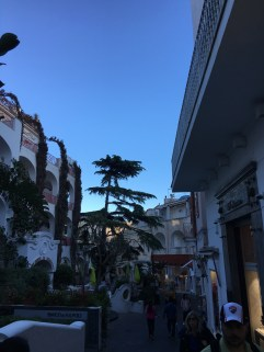 The city center of Capri.