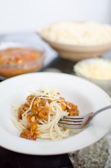 Day 08 - Spaghetti Bolognese