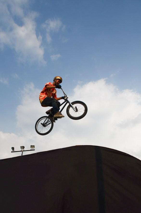 Rider BMX di event promild