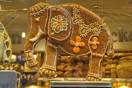 Een olifant van speculaas