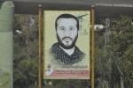 Portret van een gesneuvelde. De bloeddruppelachtige tulp linksonder is een symbool van het martelaarschap.