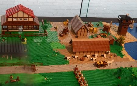 Kontich, gemaakt van Lego