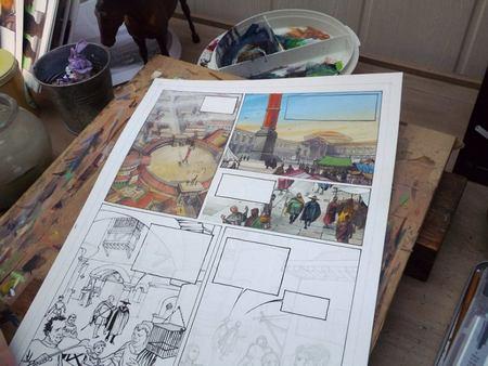 Op de tekentafel