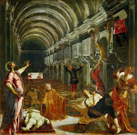 Tintoretto, Wonderen van Sint-Marcus