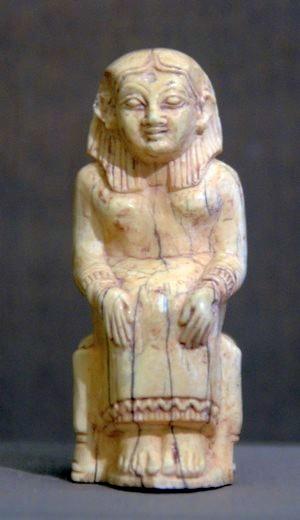 Kanaänitisch beeldje uit Kamed el-Lawz
