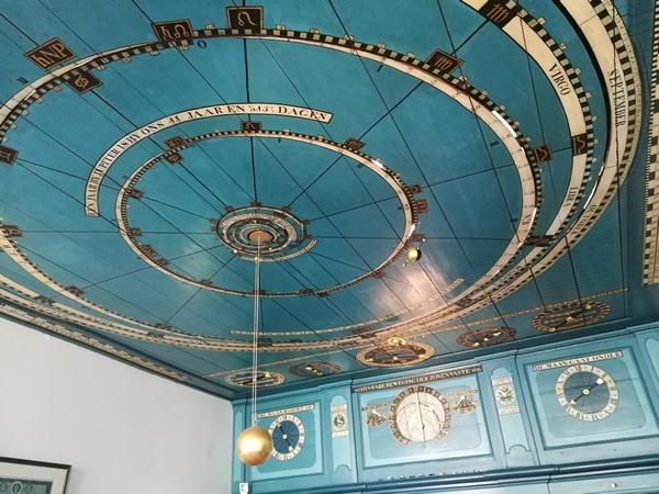 Het planetarium van Eise Eisinga in Franeker