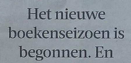 (Volkskrant 22 augustus)
