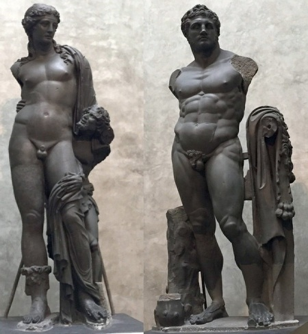 Dionysus en Hercules (Parma)