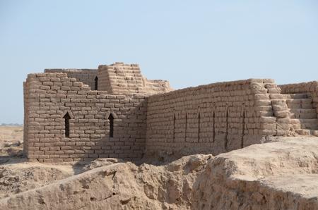 Gereconstrueerd stuk stadsmuur