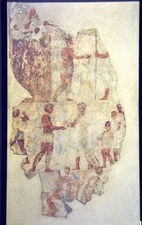 Scène uit de Samnitische Oorlogen (Capitolijnse Musea, Rome)