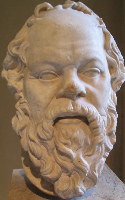 Hij wist ook alleen maar dat hij niets wist. (Socrates, Louvre)