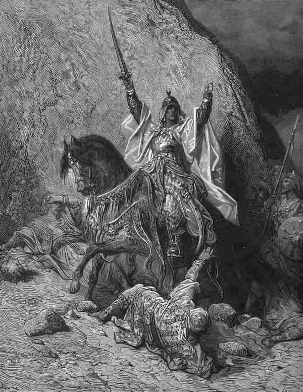 Doré's portret van Saladin