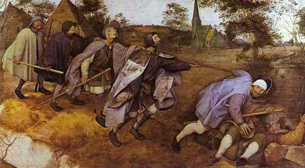"Breughel, ""De parabel der blinden"" (1568)"