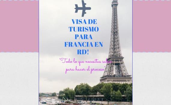 visa para Francia en RD.