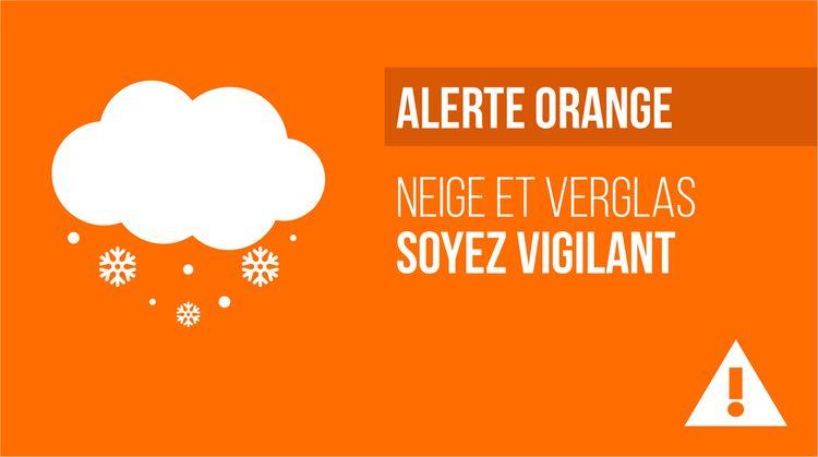 Alerte Orange Neige et Verglas jeudi 27 février à partir de 8 h