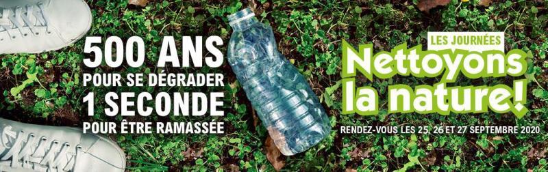 Nettoyons la Nature le 26/09/2020
