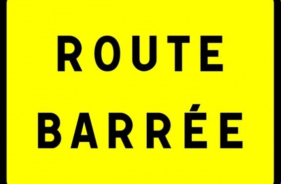 Attention, route d'Ezy barrée pendant 3 mois