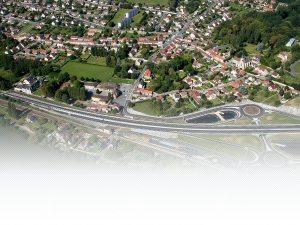rieux village - vue aérienne
