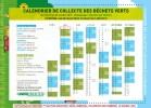 calendrier de collecte des déchets verts en 2019