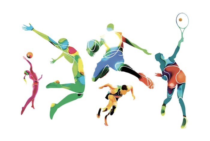 animation sportive originale