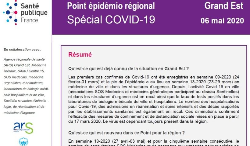 Covid situation en Grand Est