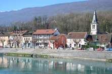 Vue sur l'Hôtel du Rhône