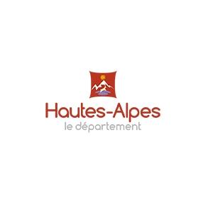 Logo du Conseil Départemental des Hautes Alpes, partenaire de la Commune Val Buëch-Méouge