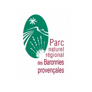 Logo Parc Naturel Régional des Baronnies Provençales, partenaire de la Commune Val Buëch-Méouge