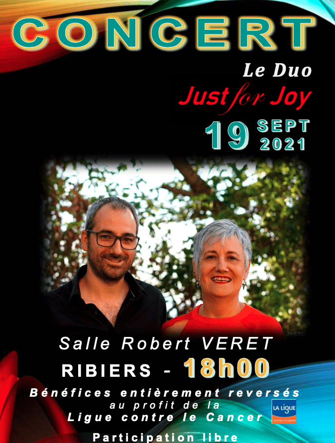 Concert Le Duo Just for Joy