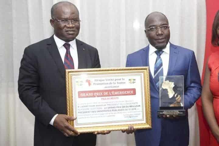 Classement des présidents des universités publiques ivoiriennes.