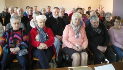 L'assemblé attentive