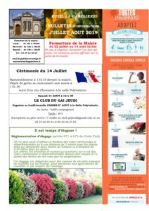 thumbnail of Information juillet aout 2019