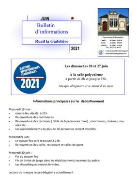 thumbnail of bulletin informations juin 2021