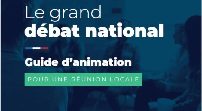 11/03/2019 Grand débat