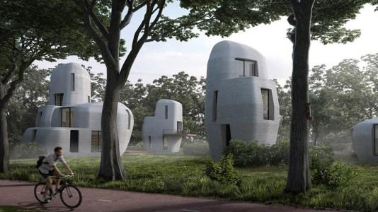 Eindhoven es la primera ciudad con viviendas impresas en 3D
