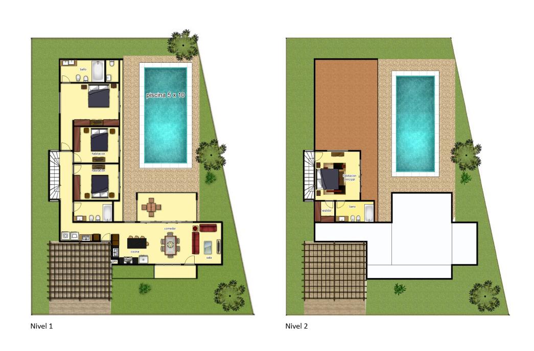 Villas Las Palmas - Tipo B (180 m²)