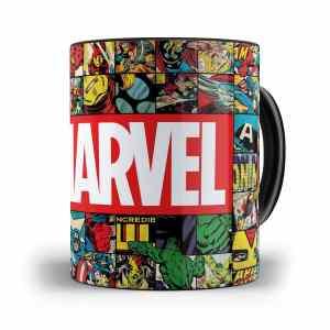 Caneca quadrinhos Marvel