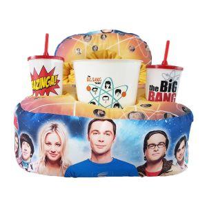 Kit Cinema Almofada Porta Pipoca The Big Bang Theory