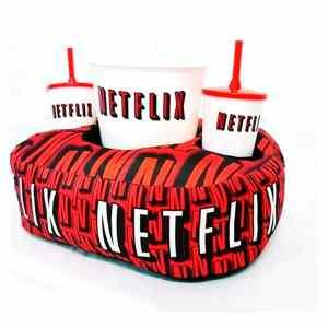 Kit Cinema Almofada Porta Pipoca Netflix