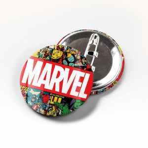 Boton Marvel Quadrinhos