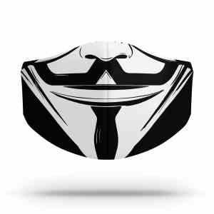 Mascaras Dupla Proteção Covid Personalizada Mais1Nerd
