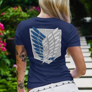 Camiseta Camiseta Attack on Titan