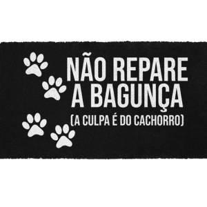 Capacho Culpa do Cachorro