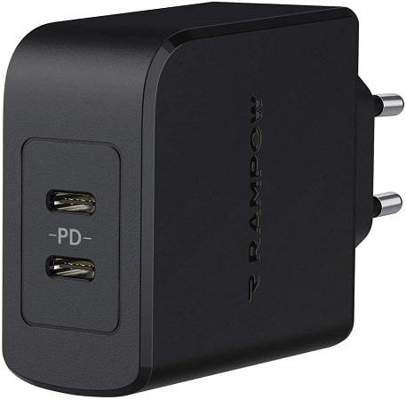 Carregador USB C com Power Delivery 3.0 45W desde Espanha a 10,32€*