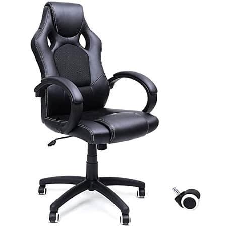 Cadeira Racing ergonómica para Escritório desde Espanha por apenas 56,63€
