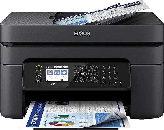 Impressora Multifunções Epson Workforce WF-2850 desde Amazon Espanha por 63,99€